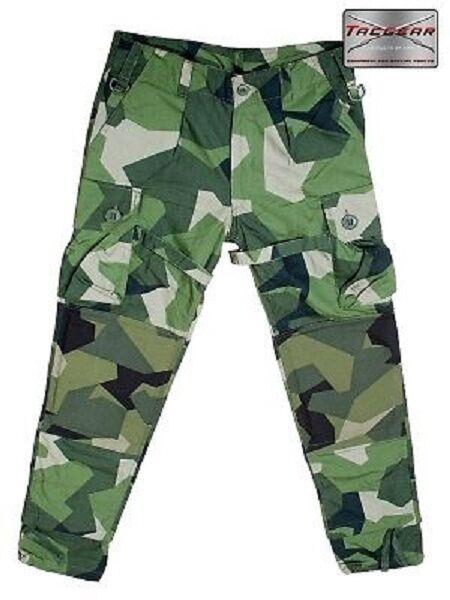 Sueco Tarn Camuflaje M90 Tacgear KSK Pantalones