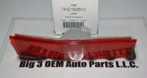 2007-2010 Lincoln MKX LH Driver Side Rear Marker Lamp new OEM 7A1Z-15A201-C