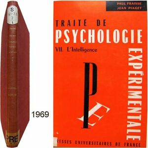 Traite-psychologie-experimentale-7-l-039-Intelligence-1969-Fraisse-Piaget-Oleron