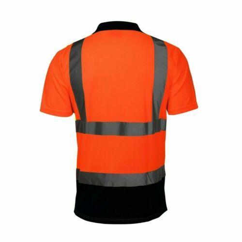 Polo T-Shirt mit Kragen Lahti Pro L40301 ORANGE Arbeitsshirt Warnschutzshirt Neu