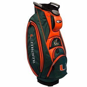 NEW-Team-Golf-NCAA-Miami-Hurricanes-Victory-Golf-Cart-Bag