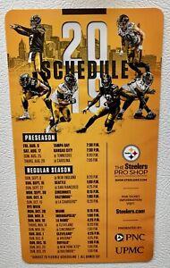 Details about Official 2019 Pittsburgh Steelers NFL Football Schedule Magnet Juju Big Ben Bush