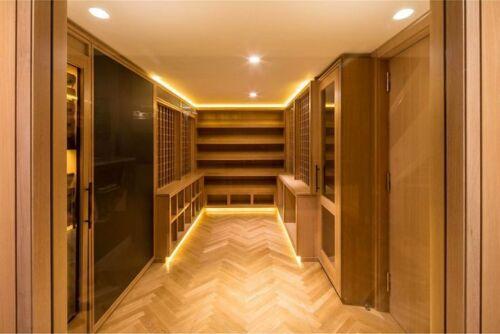 NO-Heat-in-this-LED-Closet-amp-Wardrobe-light-kit-Walk-in-Closet-Organizer-LED