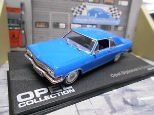 Opel-diplomatico-a-Coupe-v8-1965-1967-azul-Blue-Ixo-Altaya-precio-especial-1-43