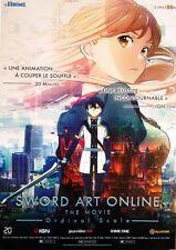 Affiche Pliée 120x160cm SWORD ART ONLINE MOVIE 2017 Tomohiko Itō Animation NEUVE