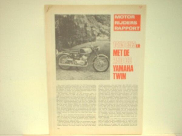 Beducht Yamaha 250 Cc Twin Roadtest We Hebben Lof Van Klanten Verdiend