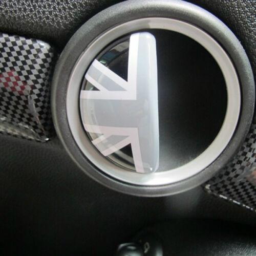 Interno maniglie delle porte portaoggetti Copertura Mini Cooper r55 r56 r57 r58 r59 UJ BLACK