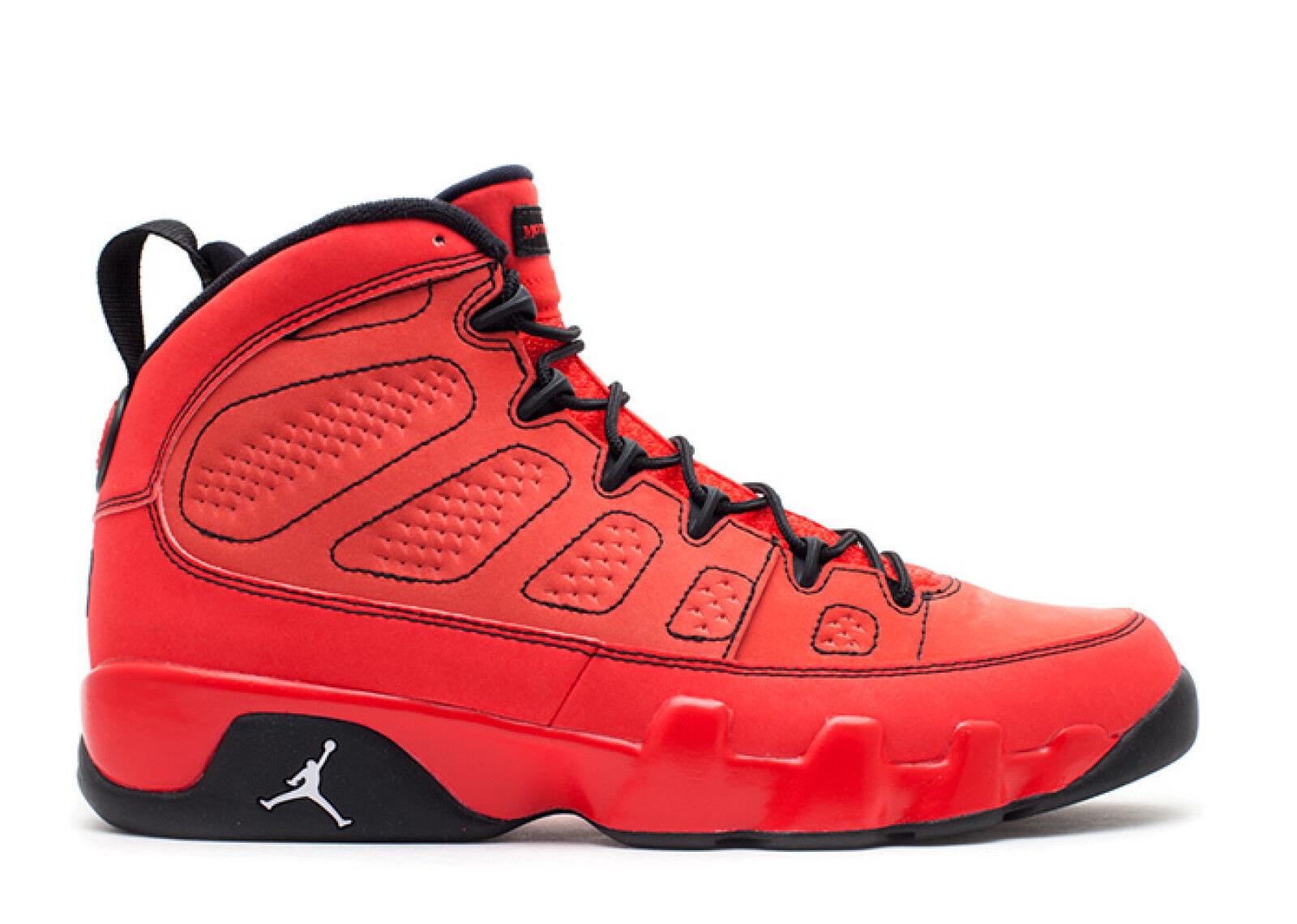 Nike air jordan 9 jones ix retro rosso motoscafo jones 9 numero 13.302370-645 7072fe
