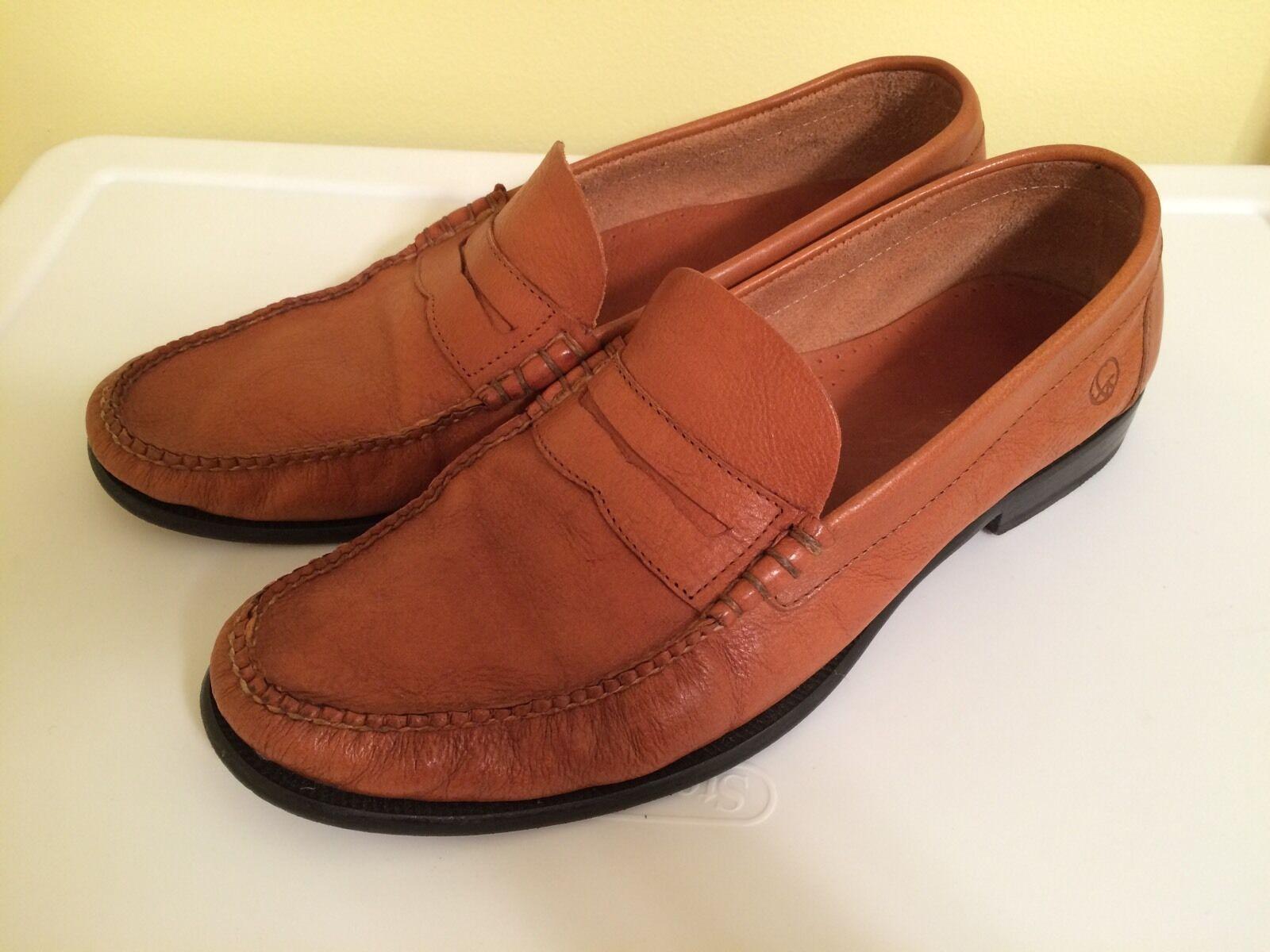 nuovo sadico Artola Brooklyn    Uomo scarpe Loafer Tan Leather Handsewn Dimensione 12 M  esclusivo