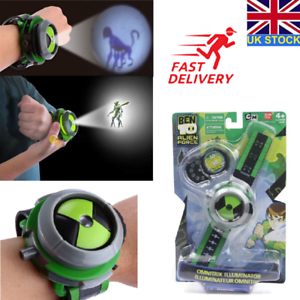 Ben10 ten alien force projector watch ultimate omnitrix bracelet anti stress toy ebay for Bracciale ben ten