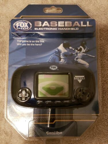 FOX SPORTS ELECTRONIC MLB  BASEBALL HANDHELD GAME NEW SEALED 2008 EXCALIBUR