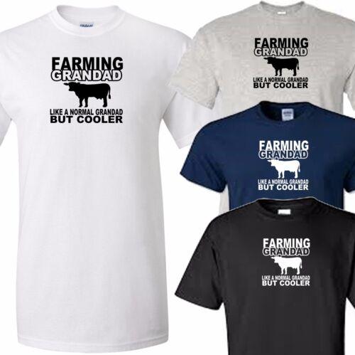 farming grandad t shirt