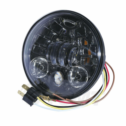 """5.75/"""" Projector LED Bulbs Headlights For Harley Dyna Super Wide Glide"""