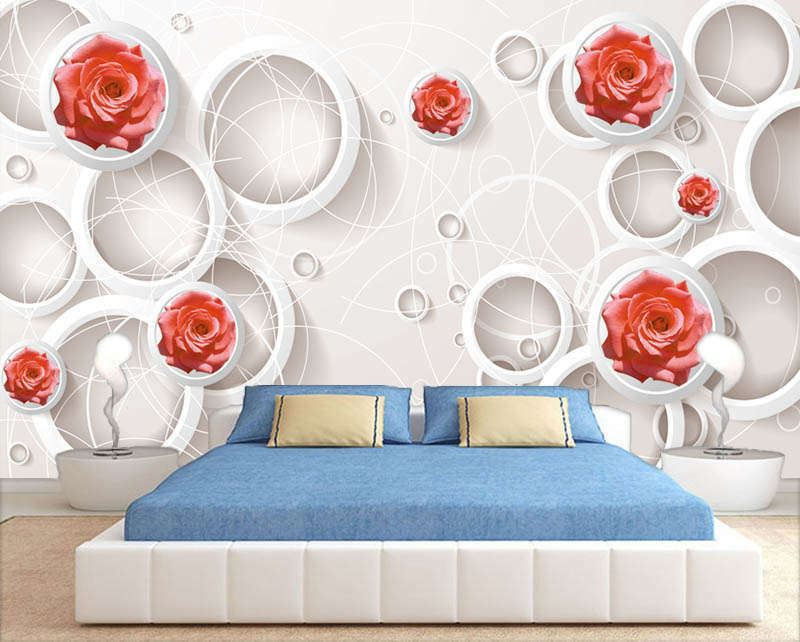 Terrific Novel Lily Lily Lily 3D Full Wall Mural Photo Wallpaper Printing Home Kids Decor 43d2bb