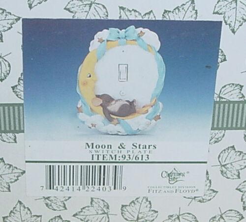 FITZ /& FLOYD CHARMING TAILS MOON /& STARS SWITCH PLATE WALL COVER #93//613 NIB vtm