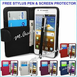 WALLET-BOOK-FLIP-PU-LEATHER-CASE-COVER-CARDS-SLOT-POUCH-FOR-NEW-MOBILE-PHONES