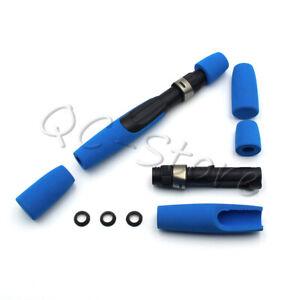 Blue Foam EVA Casting Fishing Rod Handle Kits with Reel Seat for DIY or Repair