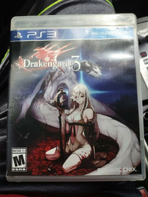 Drakengard 3 Complete with Manual Playstation 3 EUC.