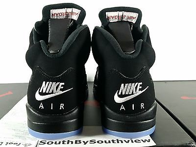 brand new f3998 a483b Nike Air Jordan V Retro OG 5 Black Metallic 2016 Size 10