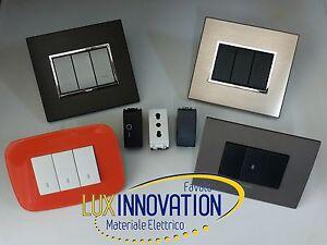 Offerta prese cestelli placche elettriche impianto for Placche prese elettriche