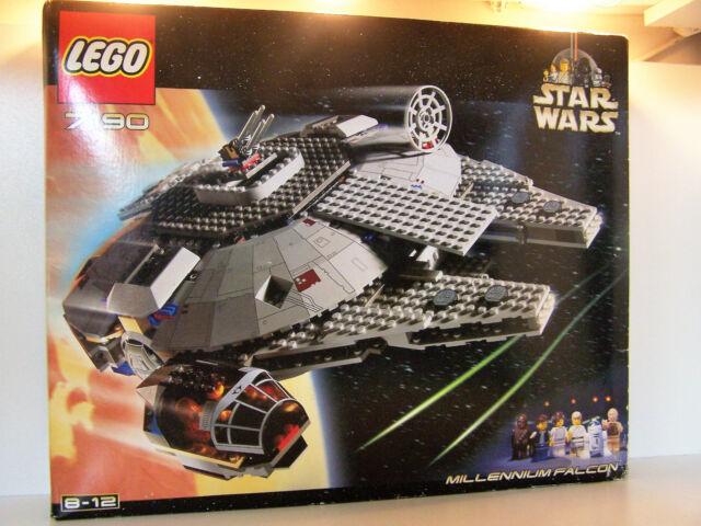 Star Wars Lego 7190 Millennium Sealed MIB Factory 2000