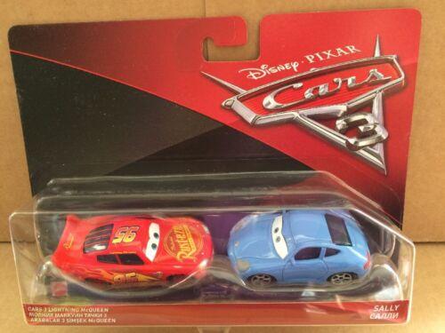 New 2017 Release Cars 3 Lightning McQueen /& Sally DISNEY CARS DIECAST