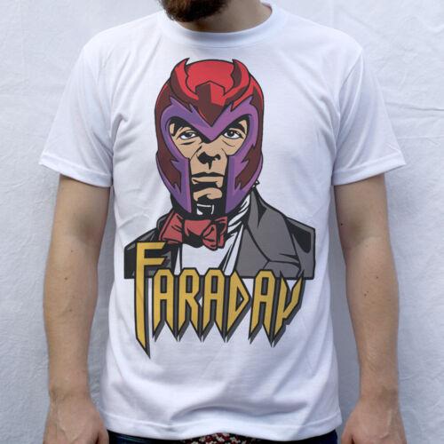 Faraday Michael Faraday X-Men Magneto T-Shirt Design