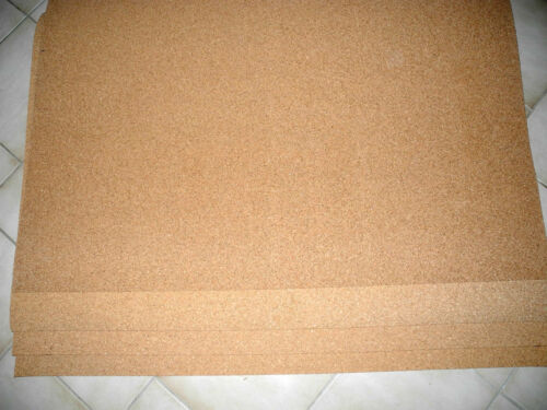 4 Stck 3 mm 100 cm x 50 cm Korkplatten XXL   Bastel-Kork-Pinnwand Untersetzer