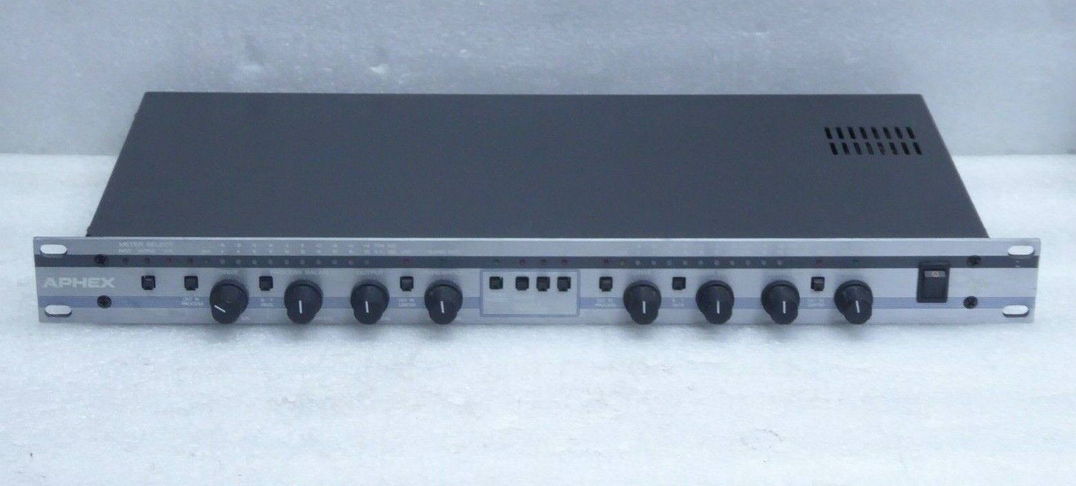 Aphex 320 COMPELLOR Dual Channel Automated Compressor/Leveler/Limiter. Buy it now for 399.00