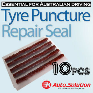 Car-Tyre-Repair-10-PCS-Tubeless-Seal-Strips-Plugs-for-Tire-Puncture-Recovery-Kit