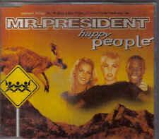 Mr President-Happy People cd maxi single eurodance