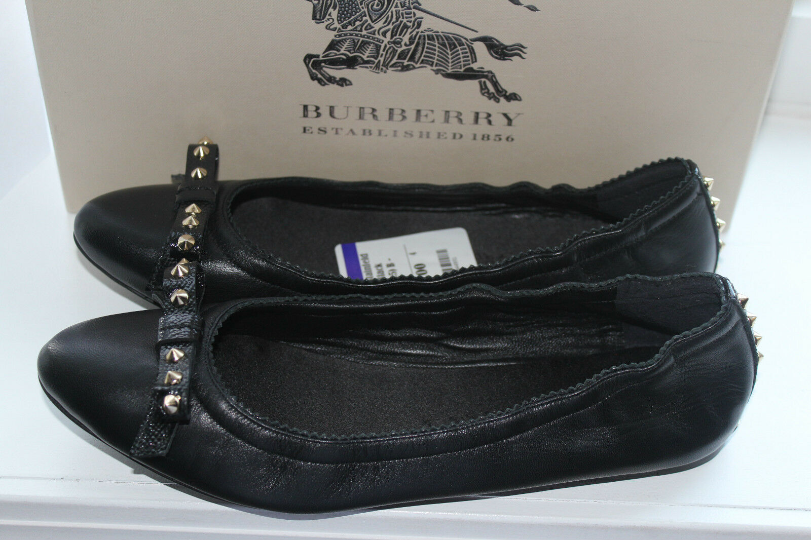 BURBERRY BURBERRY BURBERRY STAINFELD 3871792 BLACK LEATHER   8.5us  395 1ef3f9