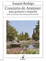 Concierto De Aranjuez Sheet Music Guitar With Piano Reduction Scho 049013159