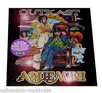 "OUTKAST - AQUEMINI - TRIPLE 12"" VINYL LP - SEALED & MINT"