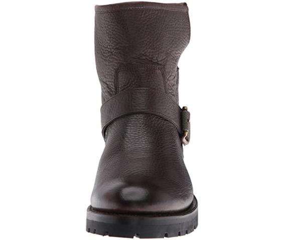 NEW FRYE Damenschuhe Natalie Short Short Short Engineer Lug Shearling Winter Boot Braun Sz 7.5 c84a40