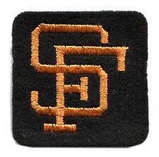 "1960'S SAN FRANCISCO GIANTS MLB BASEBALL VINTAGE 2"" HAT LOGO TEAM PATCH"