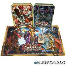"""Deck """"Noble Knights of the Round Table"""" + Playmat + 1 Tin Portacarte - INGLESE"""