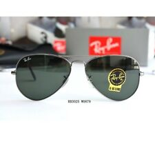 Ray Ban AVIATOR RB3025 W0879 Gunmetal Frame G-15 Green Lens 58mm Authentic  New 6a7dd683d3
