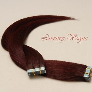 40pcs-100-Human-Hair-3M-Tape-in-Extensions-Remy-99J-Deep-Wine-Burgundy