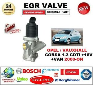 for opel vauxhall corsa 1 3 cdti 16v van 2000 on electric egr valve 2pin plug ebay. Black Bedroom Furniture Sets. Home Design Ideas