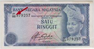 Mazuma *M769 Malaysia 4th Aziz Taha $1 P/88 979257 F Only