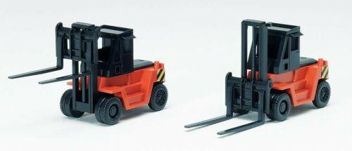 2 unidades-nuevo naranja Tomytec 975183-n carretillas elevadoras