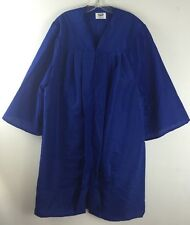 "Jostens Graduation Gown Choir Blue Robe Clergy Costume Mens Womens 6'1"" -  6'3"""