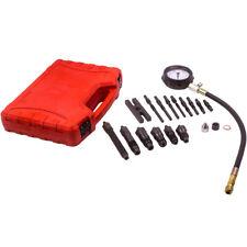 Diesel Engine Compression Tester Gauge Glow Plug Adaptors Tool Kit M10x10