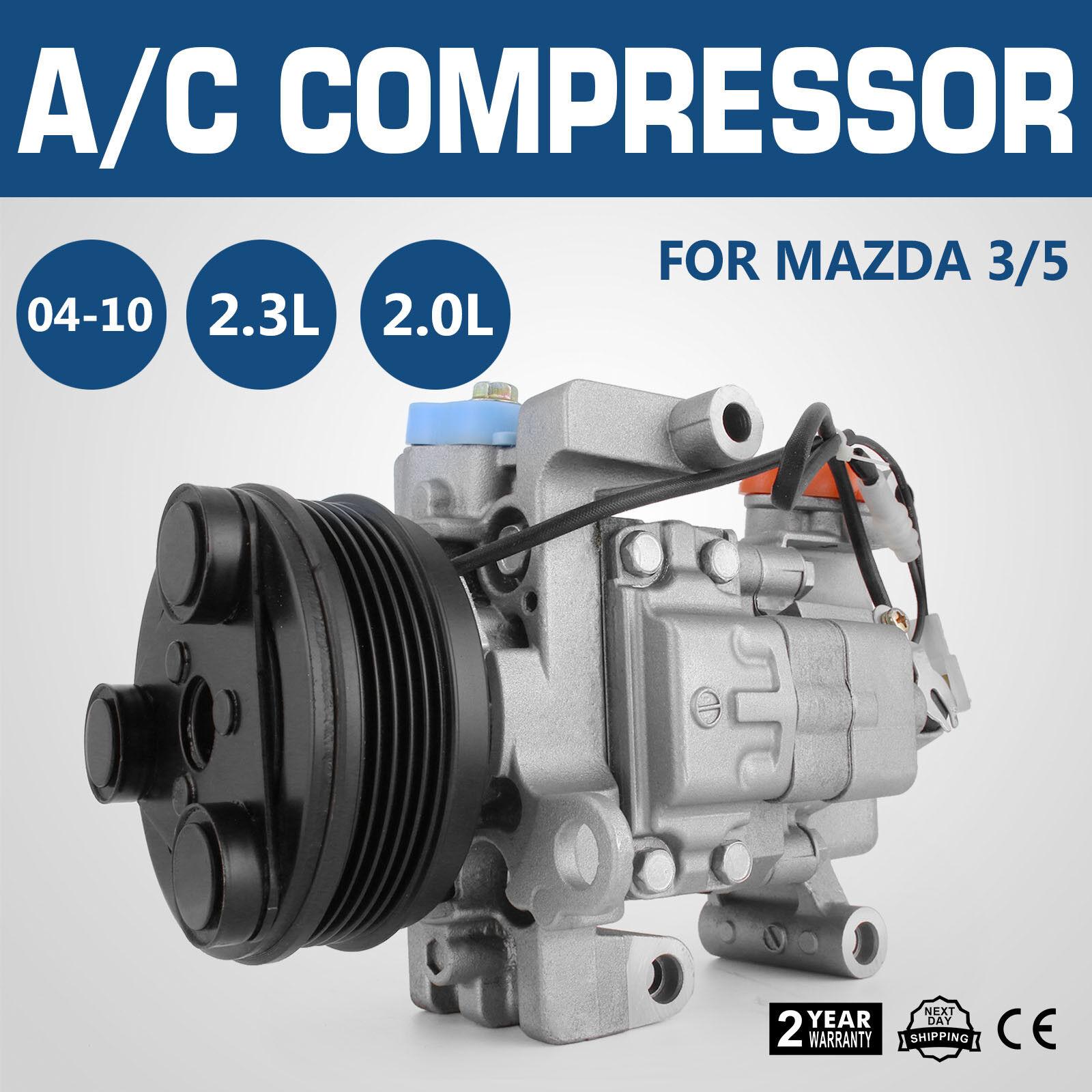 AC Air Compressor Fits For Mazda 3 04-09 Mazda 3 Sport 09 Mazda 5 06-10 57463