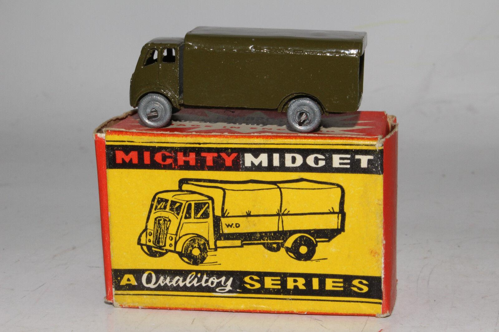 Benbros de Metal Inglaterra Carro Del Ejército Militar Camión, Excelente,