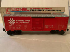 Lionel 6-9446 Sabine River & Northern Boxcar