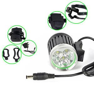 4000lm 3 xm l 3led fahrradlampe fahrradbeleuchtung bikelight licht akku ebay. Black Bedroom Furniture Sets. Home Design Ideas