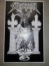 """Skeletonwitch Poster 12"""" x 18"""" Size Toxic Holocaust Goatwhore 3 Inches of Blood"""