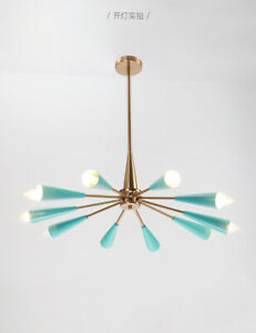 Sputnik Chandelier 10 Light Adjule
